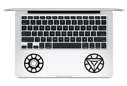 Iron Man Arc Reactor And Logo Apple Macbook Trackpad Keyboar