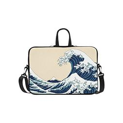 InterestPrint Japan Japanese Laptop Sleeve Case Bag, The Gre