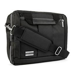 Jet Black El Prado 3 in 1 Messenger Bag & Backpack for HP Ch