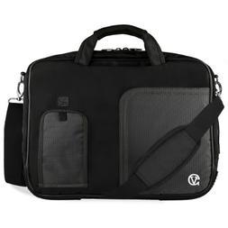 VanGoddy Jet Black Laptop Bag for Dell Inspiron / Precision