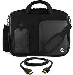 VanGoddy Jet Black Laptop Bag for HP ProBook / EliteBook / M
