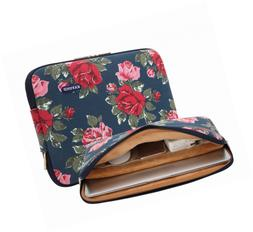 KAYOND 14 inch Laptop Sleeve Notebook Case Bag-Canvas Water-