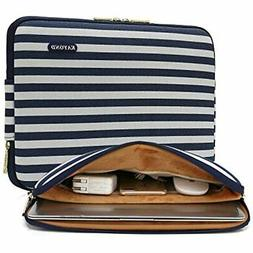 Kayond Canvas Water-Resistant 15 Inch Laptop Sleeve,15.6 Cas