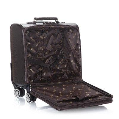 100% Spinner Luggage bag Men Business Suitcase Bags