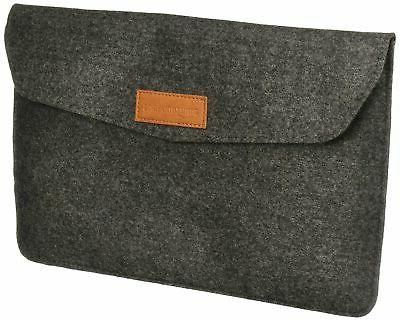 11 felt laptop sleeve light grey