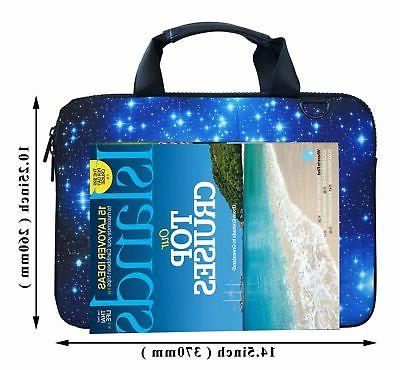 Meffort 12 inch Laptop Shoulder & Carrying Case New