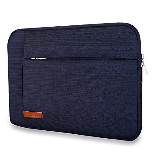 Lacdo Inch Sleeve Case for Inch MacBook 2012-2015/ Air / Pro, Dell ASUS Samsung Chromebook Notebook Tablet, Resistant,Blue