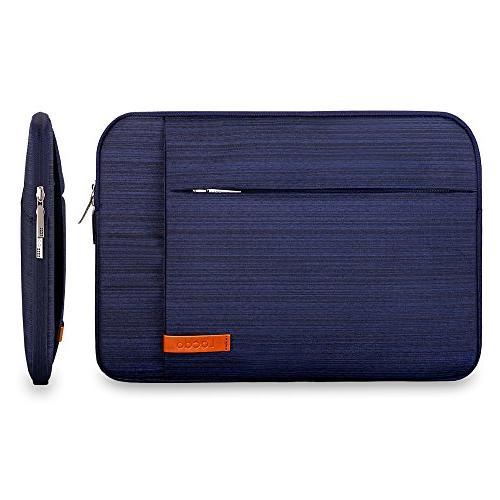 Lacdo 13.3 Sleeve Case Inch Retina / Pro, Dell Acer ASUS Samsung Lenovo Chromebook Notebook Bag Resistant,Blue