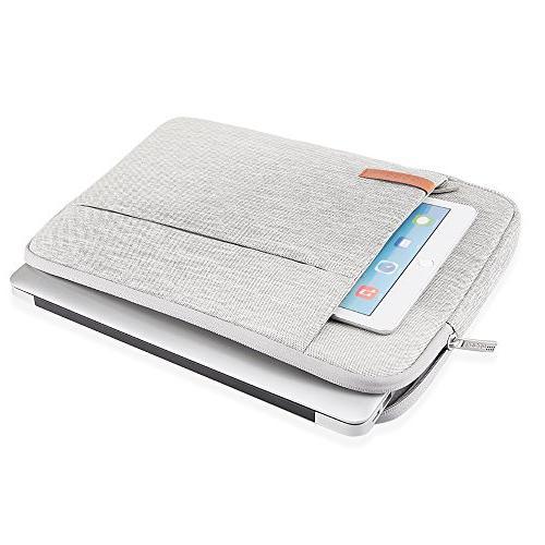 Lacdo inch Sleeve New Bar | Retina XPS | Pro 2017 Water Repellent USB-C Notebook Bag,