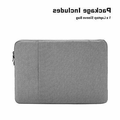 "Laptop Sleeve Case Bag 15.6"" MacBook HP Dell"