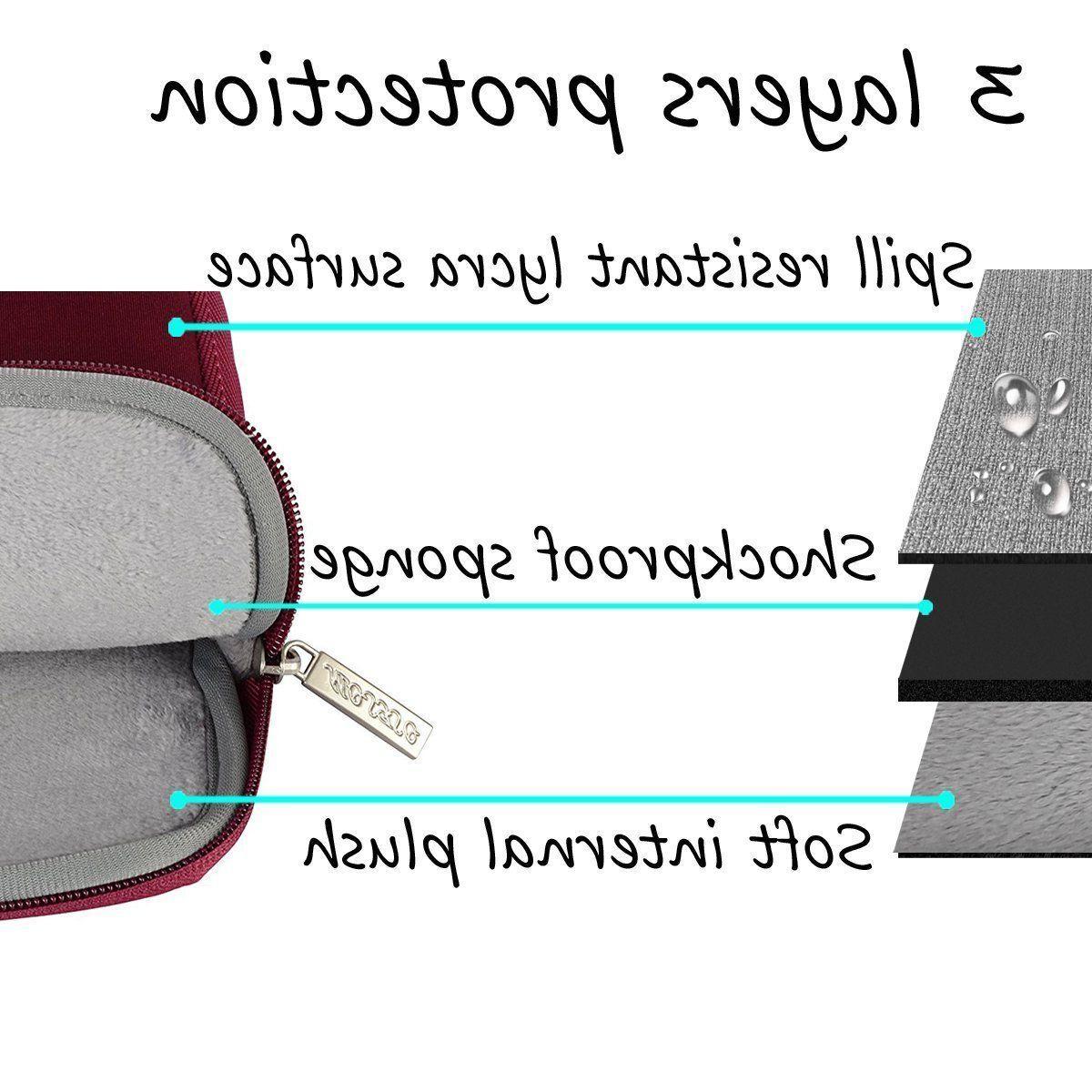 Mosiso Pro 11 15 Laptop Bag Neoprene sleeve