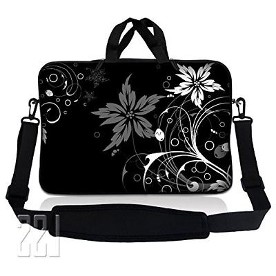LSS 13.3 inch Laptop Sleeve Bag Carrying Case Pouch w/ Handl