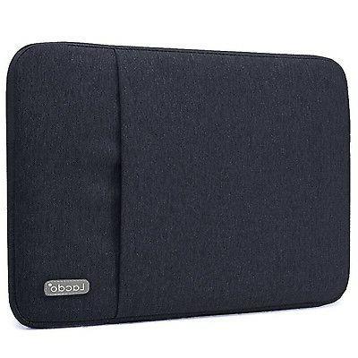 Lacdo 13 Inch Waterproof Fabric Laptop Sleeve Case for Apple