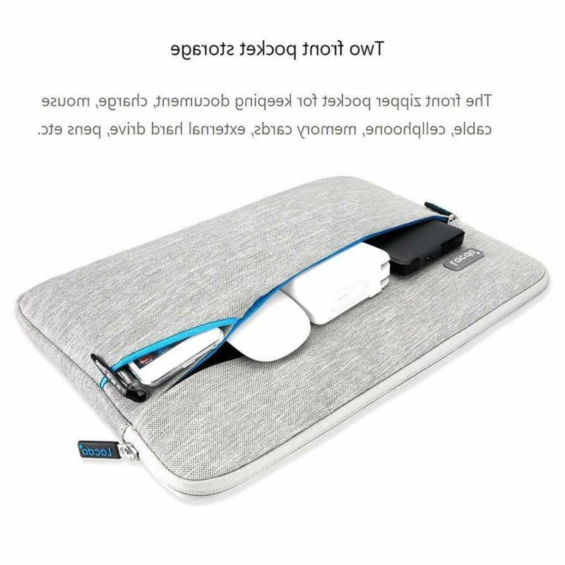 Lacdo 13 Waterproof Laptop Sleeve Compatible Macbook 13.3-Inch