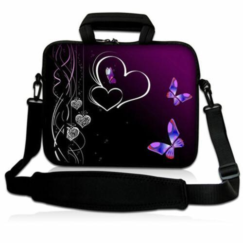 "13"" Laptop Shoulder Bag Handbag Case Briefcase For MacBook A"