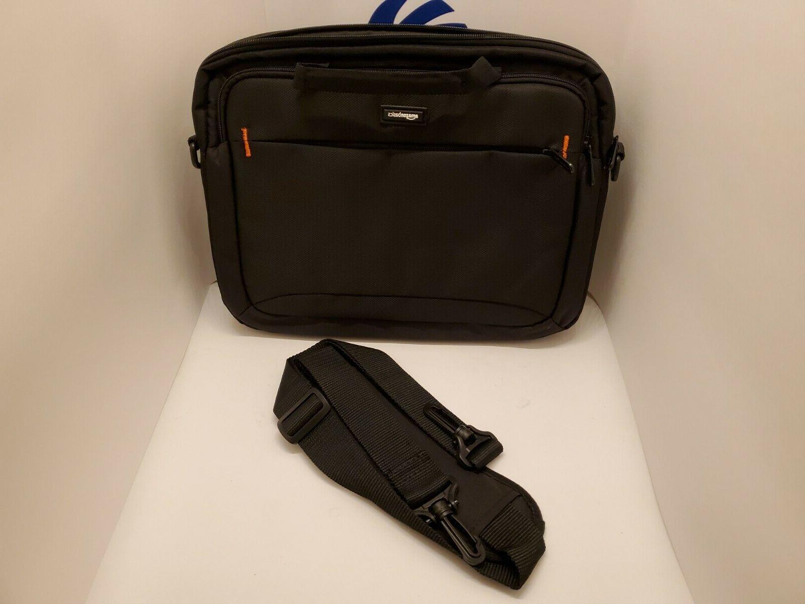 AmazonBasics 14-Inch Laptop Macbook and Tablet Shoulder Bag Carrying
