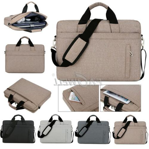 "For 17"" 17.3"" Dell Lenovo HP Acer Laptop Handle Sleeve Case"