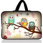"15"" 15.6"" Cute OWL Laptop Case Bag Carrying Sleeve For HP DE"