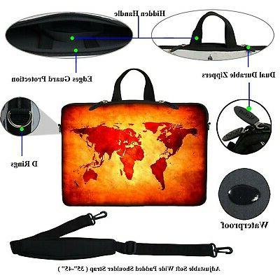 Meffort inch Laptop Bag Case with Hand...