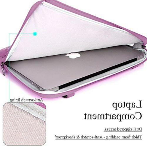 BRINCH 15.6 Inch Laptop Sleeve Case Protective Water Resistant
