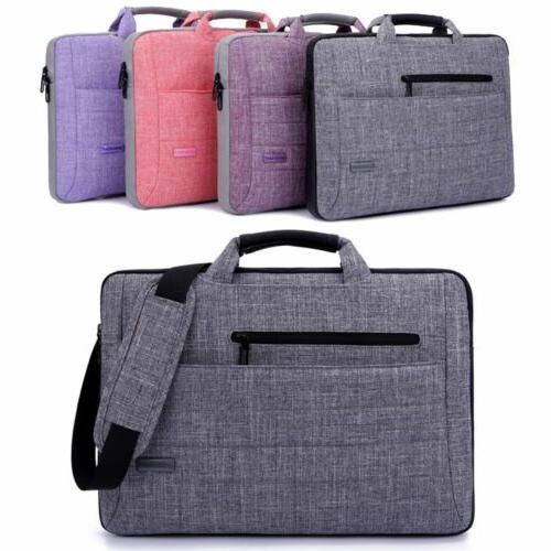 """15.6"""" Laptop Bag Messenger Carry Case Shoulder Strap Briefca"""