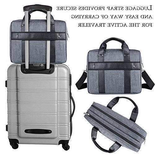 15 ~ 15.6 Laptop Twill Shoulder Bag Laptop, Tablets, 2in1 Ultrabooks, Notebook, & Netbook