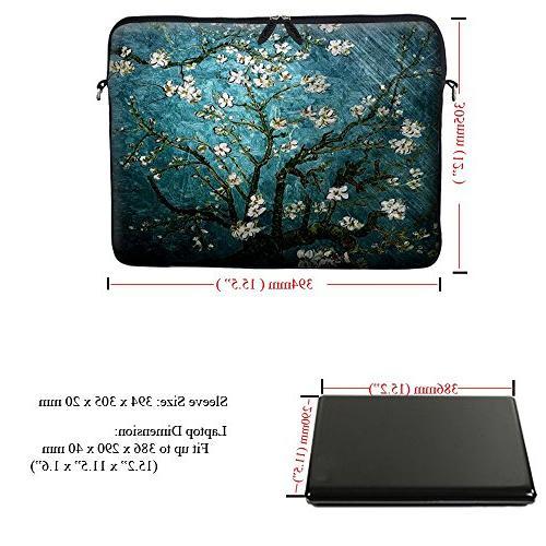 Meffort Inc 15.6 inch Laptop Bag Carrying Case Hidden Shoulder Strap van