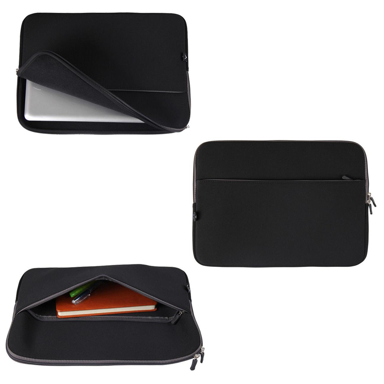 "15"" Laptop Sleeve Case Cover Pouch for 15.4"" Dell Macbook"