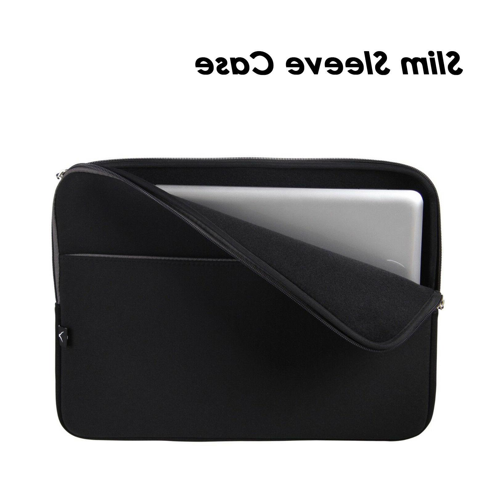 15 soft laptop sleeve case bag cover