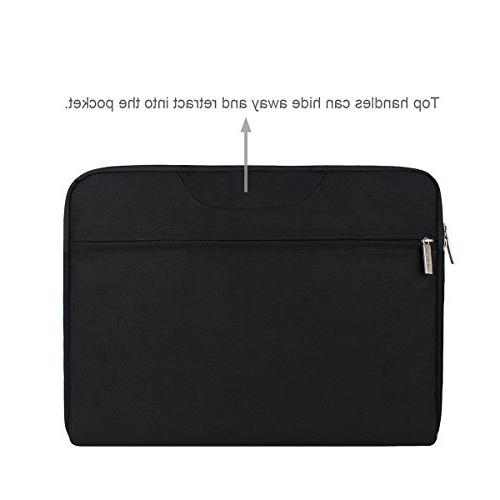 Arvok 15.6 Laptop Sleeve Bag Handle/Notebook Computer Case/Ultrabook Briefcase
