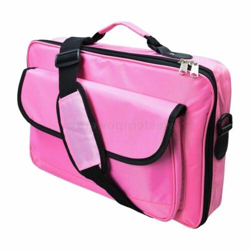 """17.3"""" 16.4"""" Inch Pink carry case for MacBook Acer HP Women"""