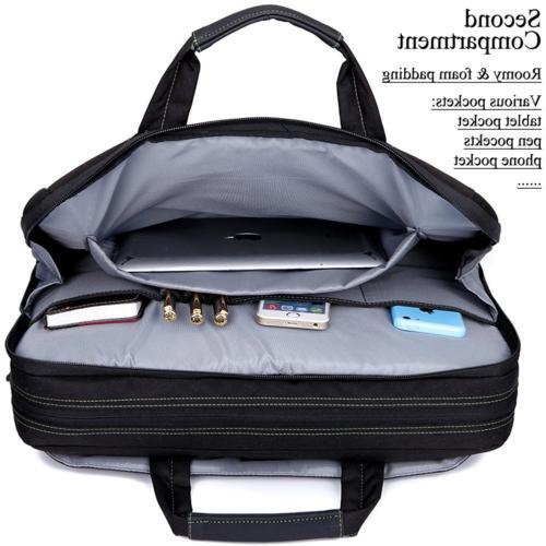 BRINCH 17.3 Inch Shockproof Laptop Case Messenger Bag for 17-17.3 and