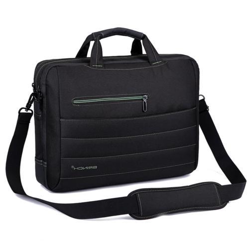 BRINCH 17.3 Shockproof Laptop Case Messenger Bag and