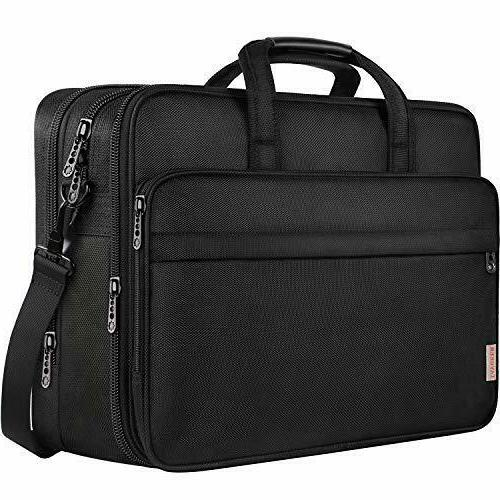 17 inch laptop bag large business briefcase