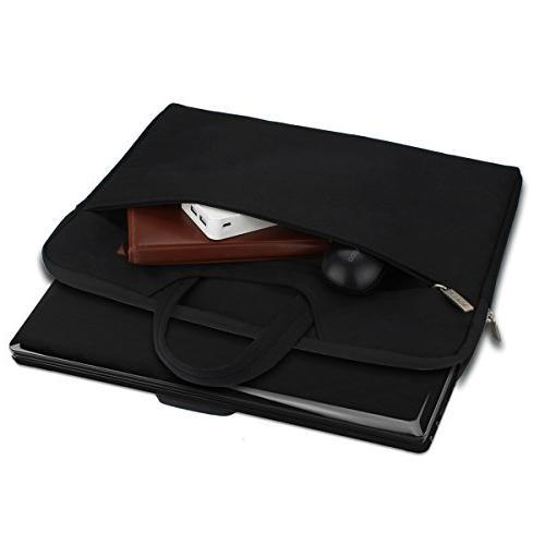 Arvok Multi-Color & Laptop Bag Handle/Notebook Case/Ultrabook Briefcase Carrying Bag, Black