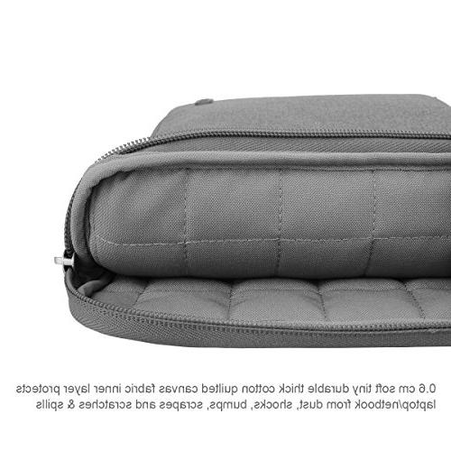 Arvok 13 13.3 Inch Canvas Laptop Sleeve Handle & Computer Case/Ultrabook Tablet Bag For Acer/Asus/Dell/Lenovo/HP/Samsung