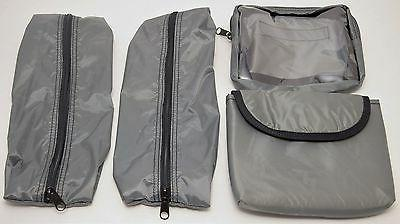 NEW Impact BLACK Ballistic Nylon Checkable Laptop Case Bag