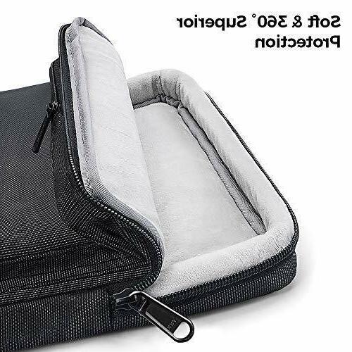 tomtoc Notebook Shoulder Bag Inch Waterproof Case Black