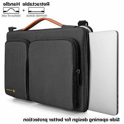 tomtoc 360 Protective Notebook Shoulder Bag 15 Inch