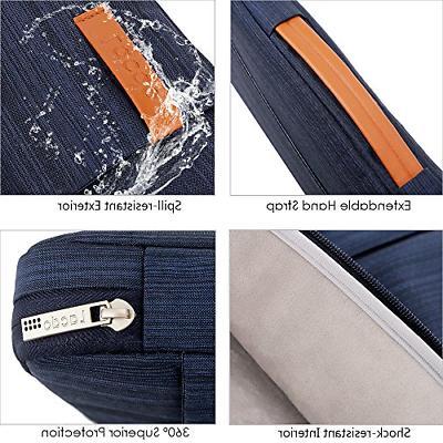 Lacdo Protective Laptop Sleeve Briefcase Bag Compatible