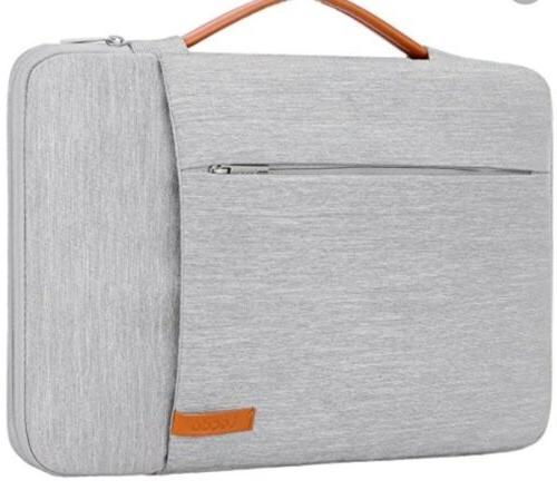 Lacdo 360° Protective Laptop Sleeve Case Briefcase for 15.6