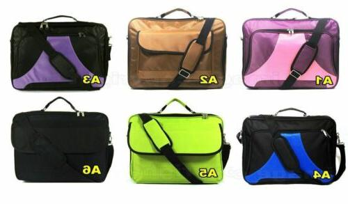 """3x 17.3"""" 16.4"""" Notebook carrying briefcase bag"""