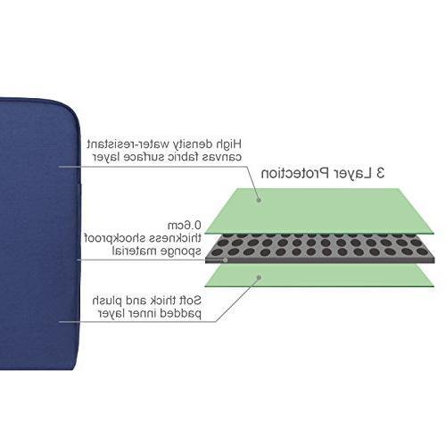 Arvok 15.6 16 Inch Laptop Sleeve Pocket/Notebook Computer Case/Ultrabook Carrying Bag/Pouch Cover for Acer/Asus/Dell/Lenovo/HP,Denim
