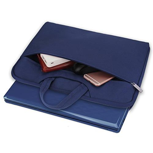 Arvok 15 16 Inch Laptop with Handle&Zipper Pocket/Notebook Computer Carrying Cover Acer/Asus/Dell/Lenovo/HP,Denim