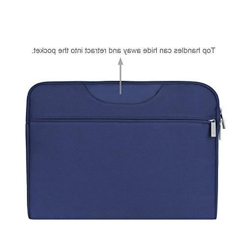 Arvok Inch Water-Resistant Canvas Laptop Pocket/Notebook Computer Briefcase Carrying Bag/Pouch Cover Acer/Asus/Dell/Lenovo/HP,Denim