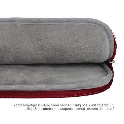 Arvok 13 13.3 Inch Canvas Fabric Laptop with & Zipper Case/Ultrabook Cover