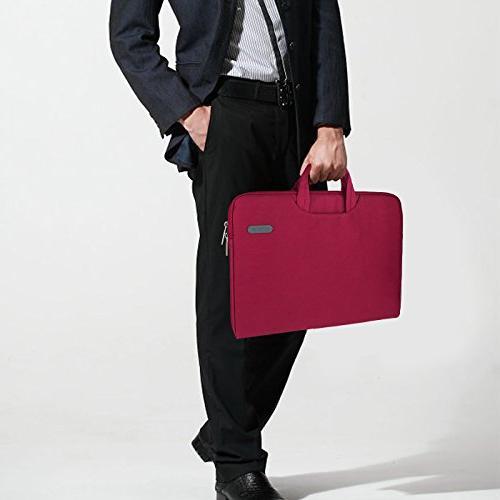 Arvok Inch Laptop with & Pocket/Notebook Computer Case/Ultrabook Carrying