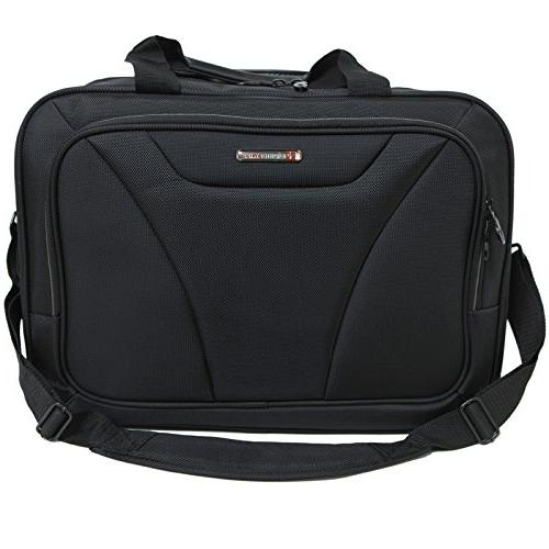 Alpine Laptop Bag Black