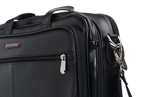 Alpine Swiss Briefcase Bag Black