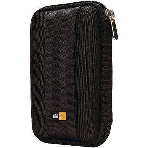 Case Logic QHDC-101 Portable EVA Hard Drive Case  - Black